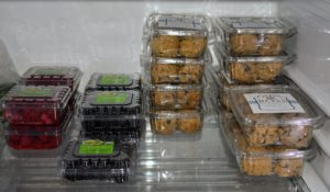 "Mike's Organic also sells fresh berries - and a favorite treat among shoppers - cookie dough from Ross Bread + Coffee in nearby Ridgefield, Connecticut. Each cookie dough ball makes two large cookies, but patrons often say sometimes they ""don't make it to the oven"". https://rossbread.com/"