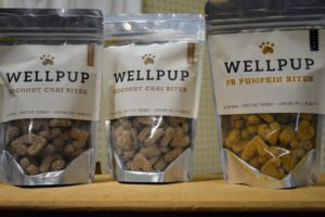 They also carry pet treats from WellPup, which contains both prebiotics and probiotics to nourish the dog's digestive tract and maintain overall intestinal balance. https://www.wellpupkitchen.com/