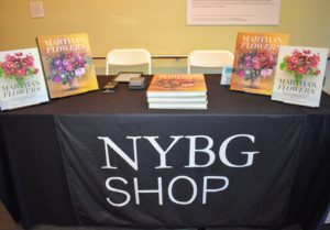 "Just inside the gallery was a display featuring my book, ""Martha's Flowers: A Practical Guide to Growing, Gathering, and Enjoying"" - I hope you have a copy. It is truly the perfect source for learning how to make the most of all your favorite summer blooms."