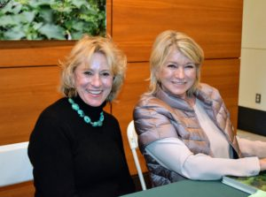 And here is a photo of me and my sister, Kathy Evans. It was so nice to see her at the event. Tomorrow, I will share photos from some of the New York Botanical Garden's impeccable greenhouses and my private tour of the LuEsther T. Mertz Library!