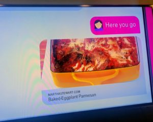Thanks to T-Mobile for including our recipe for baked-eggplant parmesan in their commercial - visits to our web site for the recipe soared after it aired. Have you tried our dish? Click on the link above and make it this weekend! You'll love it.