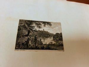 Here is an original Humphrey Repton business card, circa 1790.