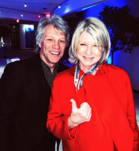 So many people attended the gathering, including Jon Bon Jovi.
