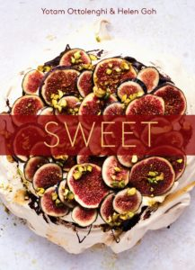 "And be sure to get a copy of ""SWEET"" - the new book Helen and Yotam co-authored. It features recipes for cookies, mini-cakes, full-sized cakes, cheesecakes, tarts and pies, and confectionery. (Photo by Peden + Munk reprinted with permission from SWEET)"