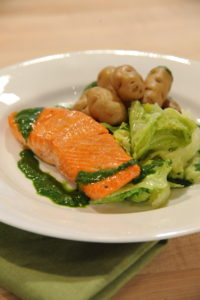 Looking to update your St. Patrick's Day dinner? Try this modern and healthful Corned Salmon rubbed in a quick dry brine and seared.