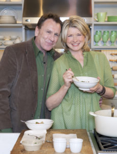 Comedian, actor and Irish man, Colin Quinn, came to our set to celebrate St. Patrick's Day, not once, but twice. During one of his visits, he helped prepare his mother's version of Irish lamb stew.