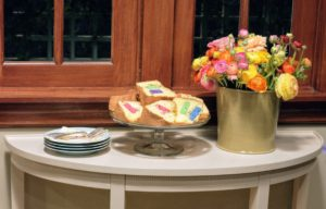 My friend, and longtime former colleague, Lisa Wagner, shares her family's Sponge Cake recipe made with matzo meal – and kitchen sponges!