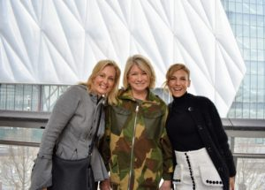 While climbing Vessel, I bumped into Ali Wentworth, wife of television host and political advisor, George Stephanopoulos, and author and philanthropist, Jessica Seinfeld.
