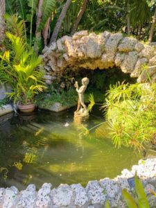 Within the two-acre property, there are many places to meditate and enjoy the quiet scenery. Along with the artworks, the Gardens also keep more than 250 rare palm species of cycads and unusual tropicals - it is recognized as one of the largest public collections in Florida.