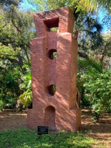 """This is called """"Gateway 3"""", 1974. This was handmade from North Carolina brick and stands 27-feet tall. This has been characterized as """"the cavity of a medieval tower rising over a submerged portal."""""""