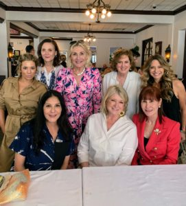 For lunch, a group of us attended a fun luncheon at Joe's Stone Crab in Miami Beach. Those at my table included Daisy Schwartzberg Toye, Allyn Magrino, Susan Magrino, Lis Barron, Yolanda Berkowitz, and Jayne Abess.