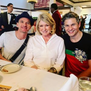 If you follow me on Instagram at @marthastewart48, you may have seen this photo of me with Neil Patrick Harris and his husband, David Burtka.