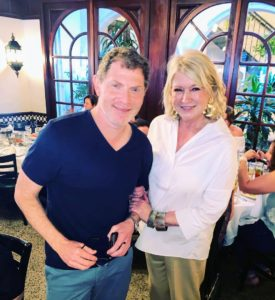 And here I am with Chef Bobby Flay.