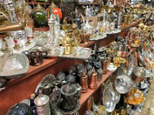 They also saw many other trinkets during the market tours.