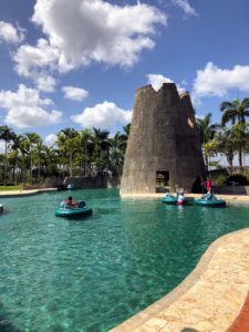 The Watermill has multiple pools and two thrilling 30-foot water slides.
