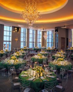 The benefit dinner was held at the Rainbow Room on the 65th floor of New York City's famous Rockefeller Center. Jennifer Zabinski of JZ Events planned the event. @jzevents (Photo by Scott Rudd @scottruddevents)