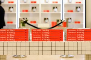 Barneys did a wonderful job decorating the space with books. (Photo by Neil Rasmus, BFA)