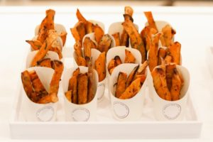 We also served my sweet potato fries. (Photo by Neil Rasmus, BFA)
