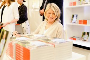I turned to the photographer for this quick snapshot in between signings. (Photo by Neil Rasmus, BFA)