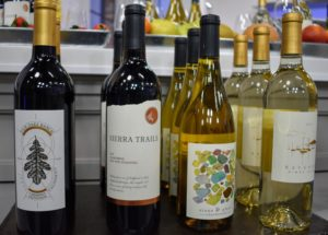Among them, a Fair Oaks Cabernet Sauvignon, a Sierra Trails Zinfandel, a Bayshore Pinot Grigio, and a Stone & Glass Chardonnay. You can order these wines in one of three options - three bottles of one varietal, 12-bottles of all red or all white, or 12-assorted bottles.