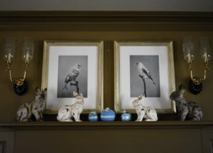 Whenever I host big parties, I always decorate my Brown Room - my large dining room off the kitchen in my Winter House. I love pulling out all the rabbits and eggs and finding new ways to use them.