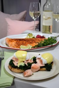 The salmon can be served and enjoyed in so many different ways. It is so tender, flaky and utterly delicious.