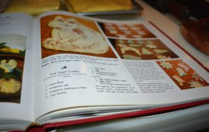 "The recipes for the dough and the icing are in my first ""Entertaining"" book - page 209."