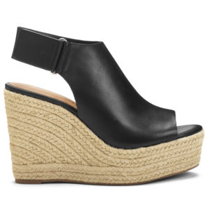 This shoe is called my Hillside espadrille wedge. The Hillside is so comfortable and breathable. This is one of my favorite shoes - I have them in all the four colors and patterns.