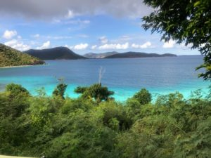 See all the beautiful views from St. John. 60-percent of its land is a pristine national park.