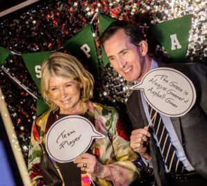 Kevin Sharkey and I took this fun snapshot at the event's photo booth. (Photo by Scott Rudd @scottruddevents)