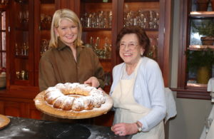 Like many families, we have special holiday baking traditions. We always baked and served sweet stollen for Christmas.