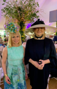 Here I am with philanthropist and Central Park Conservancy Trustee Gillian Miniter.
