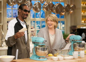 My mother made mashed potatoes with butter, cream cheese, and whole milk. In this segment, I am teaching Snoop Dogg how to make Big Martha's indulgent side dish.