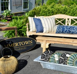 Hammertown Barn is a longtime Trade Secrets vendor. This year, they had these fun pillows and benches. https://hammertown.com/