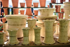 I am always happy to see Guy's pottery – everything he makes is so beautifully handcrafted in his studio.