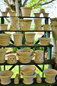 I have been using Wolff pots for many years. Guy has been on my television shows, and his pottery has been featured in my magazines, on my web site at marthastewart.com, and on this blog. http://www.themarthablog.com/2015/12/a-visit-to-guy-wolff-pottery-in-bantam-connecticut.html