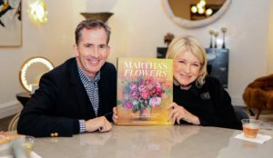 "Kevin and I are so proud of ""Martha's Flowers"", and so thrilled with this deluxe edition. Divided by season, this book is filled with spectacular photographs and tips for planting, maintaining and arranging all your favorite flowers - many of which are blooming right now. (Photo by Carlos Ledesma for Magrino)"