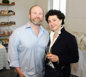 This is Mike with his mother-in-law, Marina Varshisky. Mike founded the company 10-years ago after leaving his corporate advertising job and spending three months in the African bush where he realized his passion for wholesome, fresh foods. (Photo provided by Unger Media for Mike's Organic)