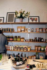 Inside the retail shop are shelves lined with wholesome products carefully selected for their natural ingredients and manufacturing processes. (Photo provided by Unger Media for Mike's Organic)