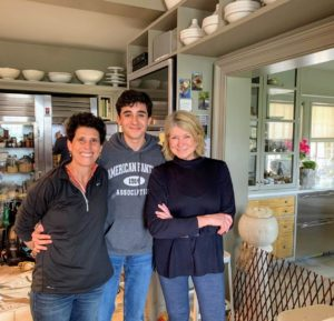 And here is a picture of my mom, Debra, Martha, and me taken last month in Martha's home. Thanks, Martha, for letting me share my photos with your readers!