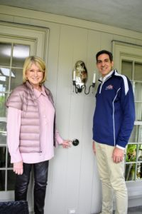 Here I am with Peter in front of one of my new Google Nest Learning Thermostats. Thanks, Peter, ARS/Rescue Rooter, and Google for all the help in getting my home connected. And please click on the links above to learn more about these useful devices.
