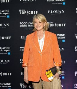 On the first night, we attended the Food & Wine Classic in Aspen welcome reception at the St. Regis Hotel. Here I am posing for some press pictures. (Photo by Galdones Photography)