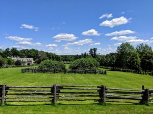 Cantitoe Corners, my Bedford farm, is large with many outbuildings, paddocks, and gardens. It is very important that my home is well connected, so it remains safe for me, my family, and all my animals.