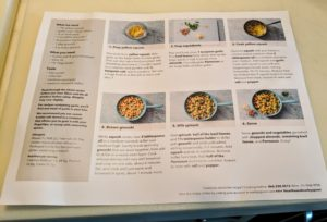 And on the other side - all the how-to, step-by-step instructions and detailed photos to match.