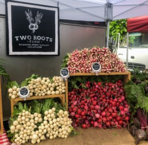 We also walked around the festival to see some of the participating vendors such as Two Roots Farm, a small market farm growing local fresh, organic vegetables. https://www.tworootsfarm.com/
