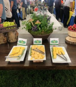 Kerrygold was also there with several of their natural Irish cheese. https://www.kerrygoldusa.com/