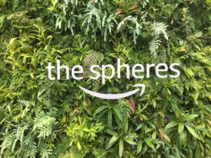 The Spheres are located in downtown Seattle. They opened in January 2018. While used primarily for Amazon employees, the conservatories are open for weekly tours and various exhibits. (Photo courtesy of The Spheres)