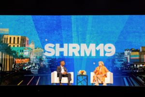 I was interviewed by Johnny C. Taylor, President, and CEO of SHRM. We talked about my business and how it has developed and evolved over the years. We discussed ideas and the skills needed to improve work environments. (Photo by Cade Martin Photography/cademartin.com)