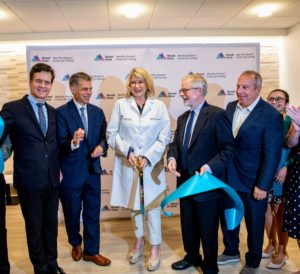 And here we are after - we are all so proud to have opened this second facility. See the ribbon-cutting video on my Instagram page @MarthaStewart48.