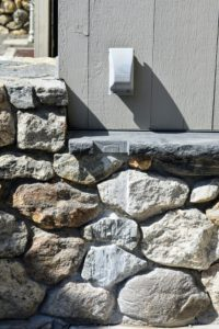 To prepare it for the steel frames, my friends from Luppino Landscaping & Masonry created notches in the existing stone. https://www.luppinolm.com/